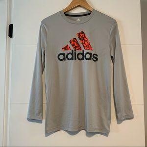 Adidas | Climalite Long Sleeve Workout Shirt